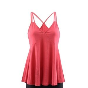 RO&DE Red Tank With Criss Cross Double Straps